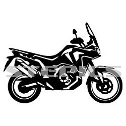 Honda CRF 1000 L Africa twin bok