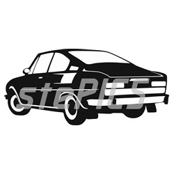 Škoda 110 R Coupé záď