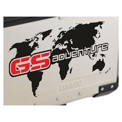 WORLD map ADVENTURE na kufry
