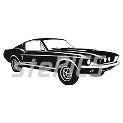 Ford Mustang GT 350 1967