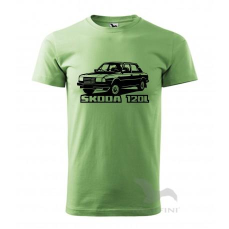 Retro triko Škoda 120