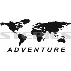 World map Adventure