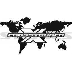World map Crosstourer