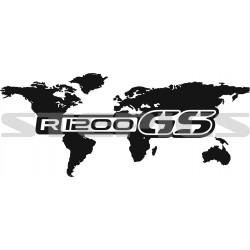 World map R1200GS