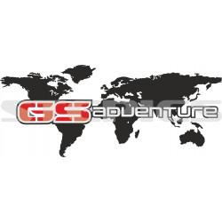 World map GS adventure